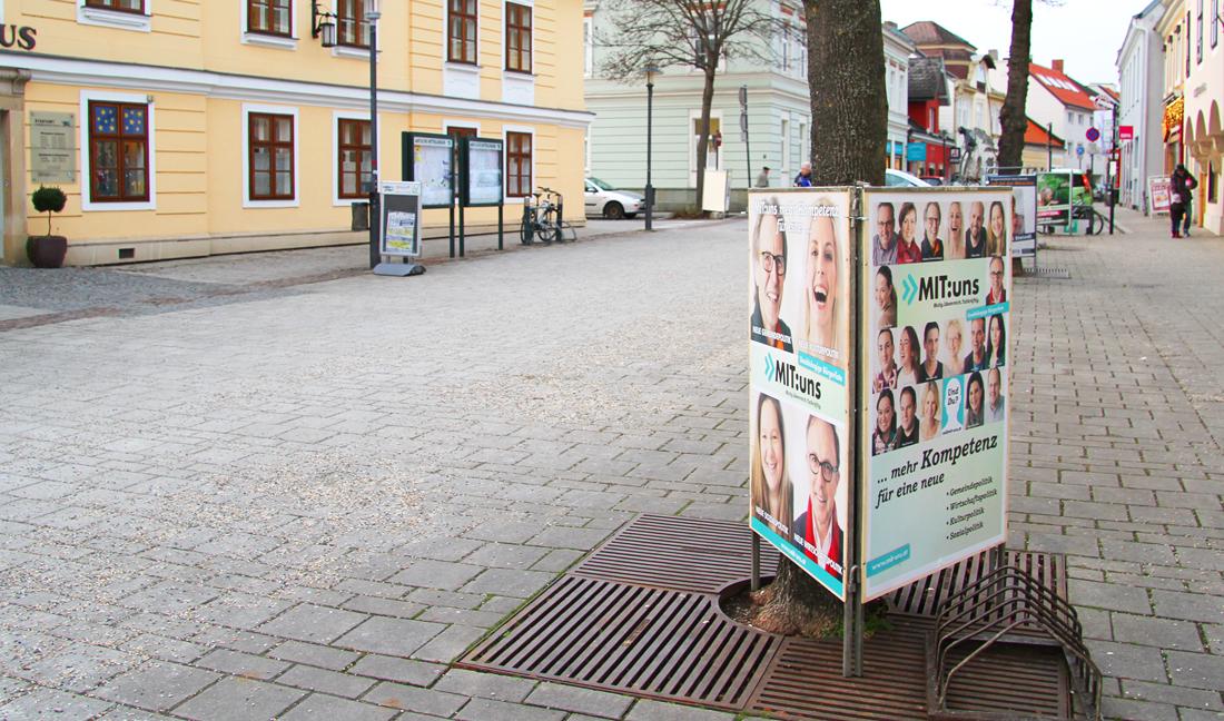 Mit:Uns Political Campaign